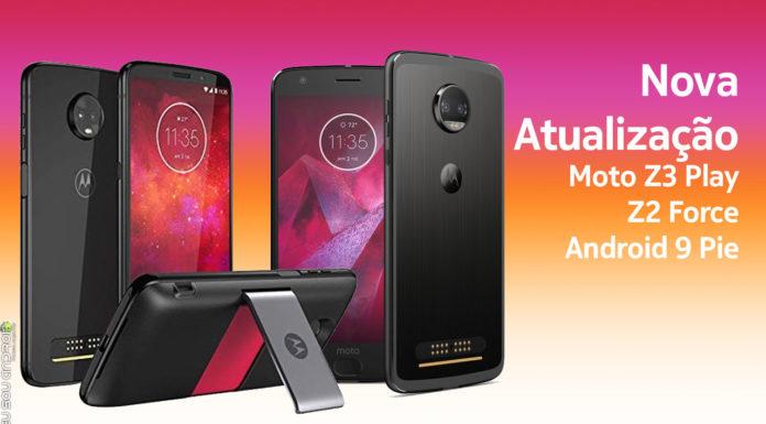 Moto Z3 Play e Z2 Force Começam a Receber Android Pie capa principal eu sou android google