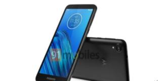 Motorola Moto E6 aparece em uma nova imagem