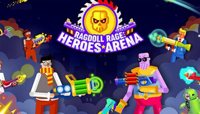 Ragdoll Rage: Heroes Arena