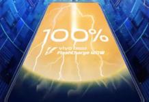 Super FlashCharge da Vivo promete carregamento de 0 a 100 em apenas 13 minutos