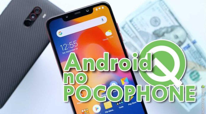 Testes Para o Android Q no Pocophone F1 Devem Começar em Breve capa
