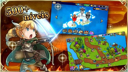 Crazy Defense Heroes disponível para Android