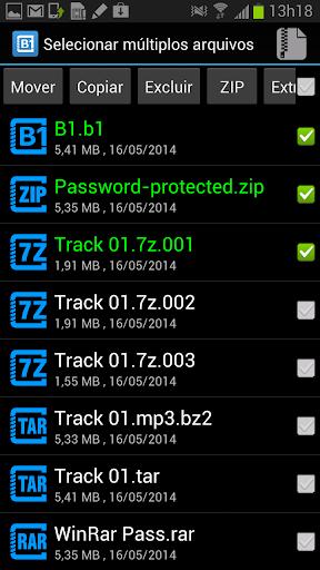 B1 Archiver zip rar