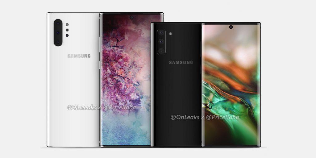 Galaxy Note 10 e Note 10 Pro
