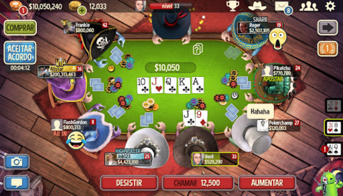 Governor of Poker 3 - Texas Holdem Pôquer Online