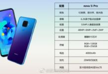 Huawei nova 5i Pro tem imagens e especificações vazadas