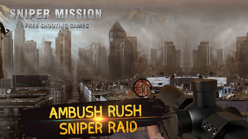 Missão Sniper - Jogos de tiro grátis