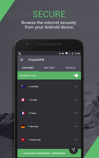 ProtonVPN – advanced online security for everyone