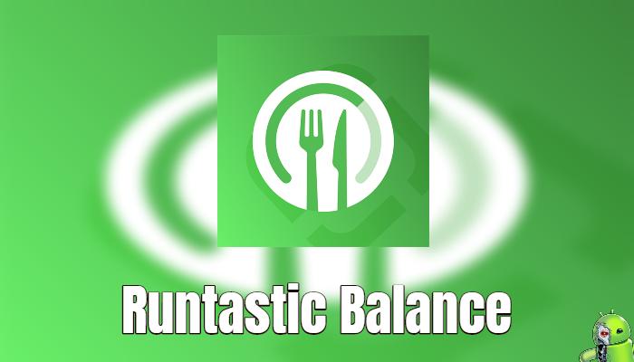 Runtastic Balance: Contador de Calorias e Nutrição