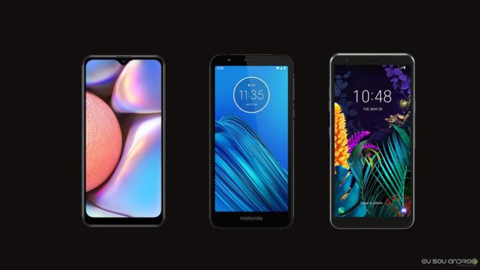 Samsung Galaxy A10s, Moto E6 e LG X2 2019 aparecem no Android Enterprise Directory