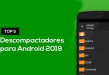 Top 5 descompactadores para Android 2019