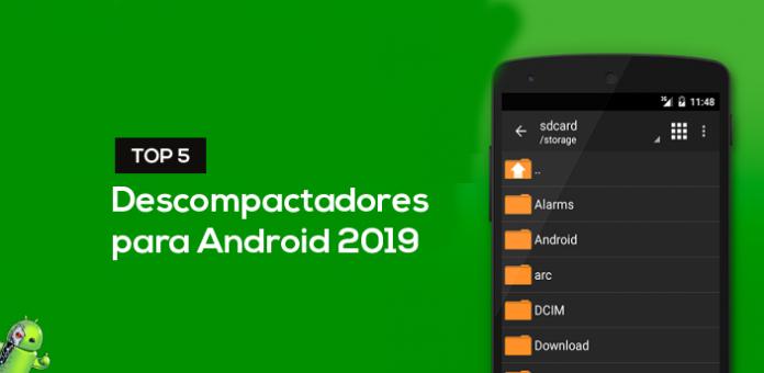 Top 5 descompactadores para Android 2019