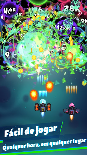 Virus War - Jogo de Tiroteio no Espaço