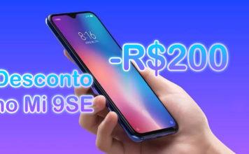 Xiaomi Dá Desconto de R$200 na Compra do Mi 9SE no Brasil! Veja Como Conseguir! capa