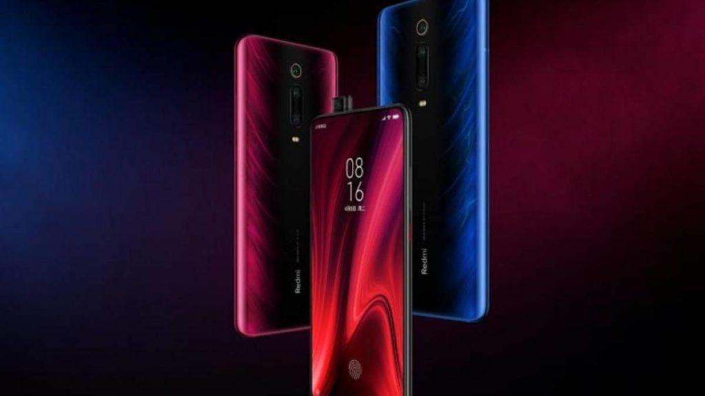 Coisas Que Você Precisa Saber Antes de Comprar um Xiaomi - foto com 3 Mi 9T nas cores, roxo, preto e azul flutuando