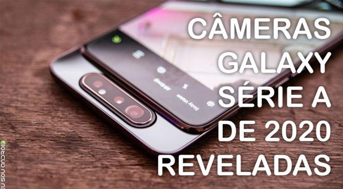 Especificações das Câmeras de quase TODOS os Galaxy A de 2020 Vazam na Internet CAPA