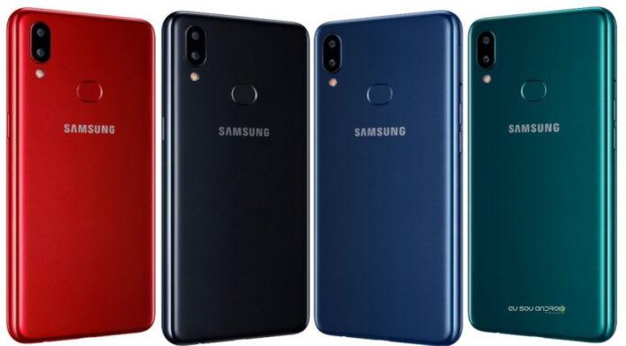Galaxy A10s é anunciado com bateria de 4.000 mAh e leitor de impressões digitais