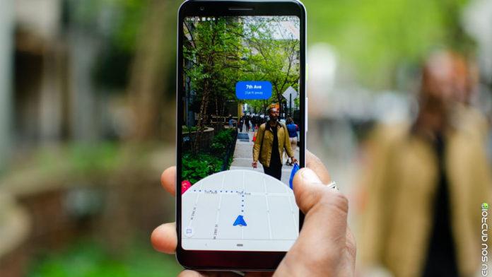 Google Mapas Libera Navegação Com Realidade Aumentada! capa