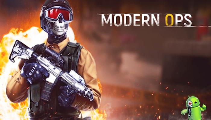 Modern Ops - Jogos de Tiro (Online Shooter FPS)