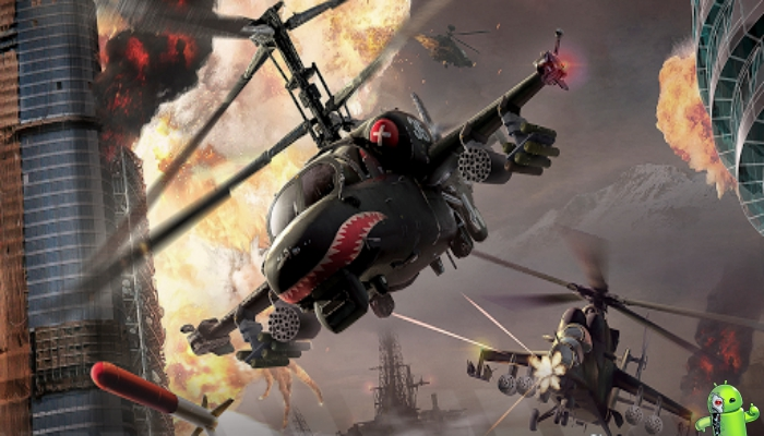 Modern War Choppers: um jogo de guerra JxJ