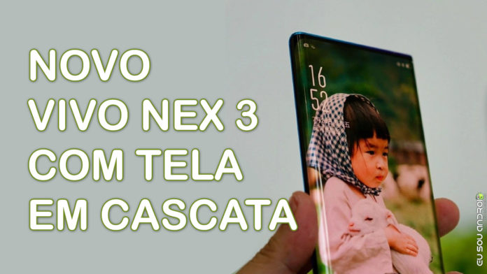Novo Vivo NEX 3 Terá Nova Tela Que Cobre Toda a Borda do Smartphone CAPA