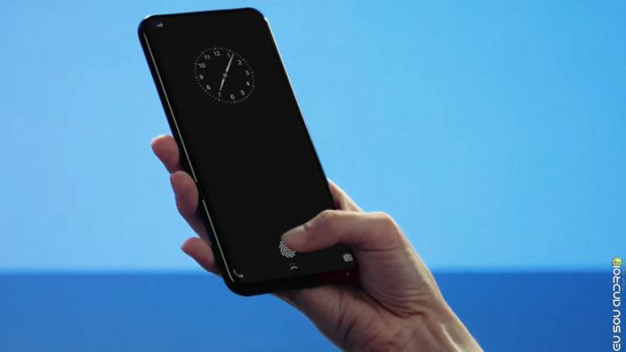 Provável Smartphone Huawei Mostra Novo Leitor de Digitais para Telas Mais Rápido que da OnePlus capa