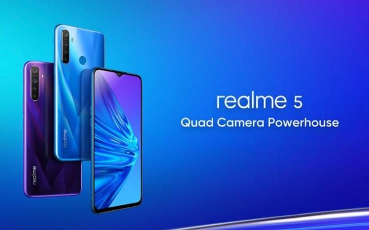 Realme 5 e Realme 5 Pro