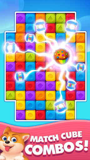 Toy Cube Crush - Tapping Games