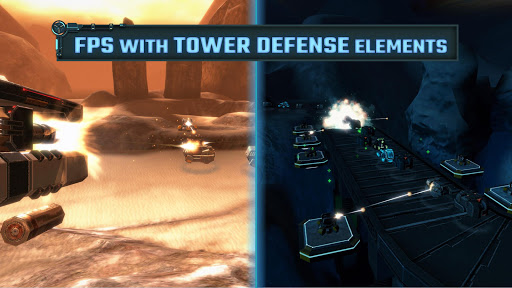 Type II: Hardcore 3D FPS with TD elements