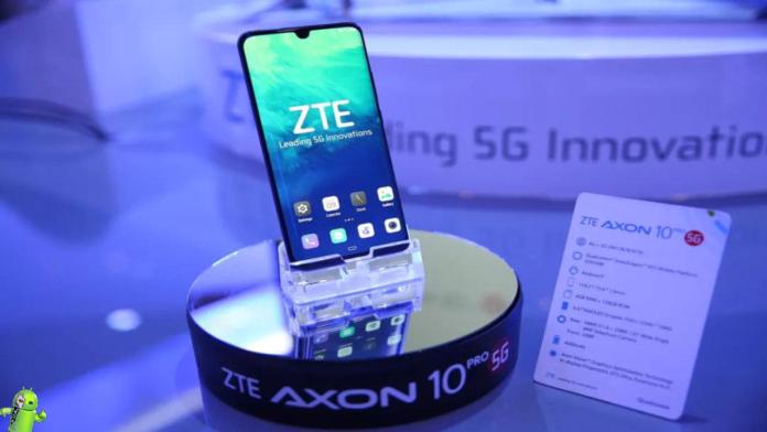 ZTE lança seu primeiro smartphone 5G