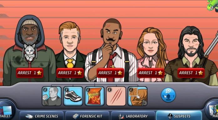 Melhores jogos de crime e mistério para o Android