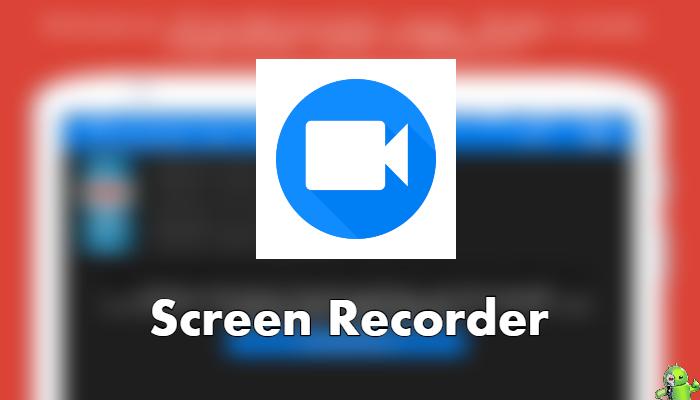 Screen Recorder - Gravador de Jogos com a Câmera