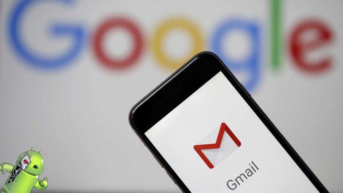 Smartphone com Gmail