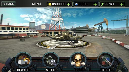 Ataque de helicóptero 3D