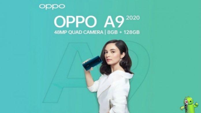 Oppo A9 2020 poderá vir com Snapdragon 665 e quatro câmeras