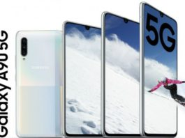 Samsung Galaxy A90 5G é oficial com Snapdragon 855 e câmera de 48MP