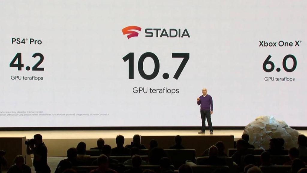 Especificações Google Stadia