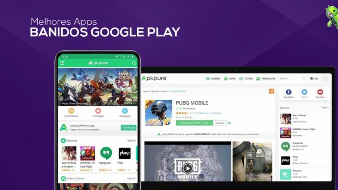 Aplicativos que foram proibidos da Google Play