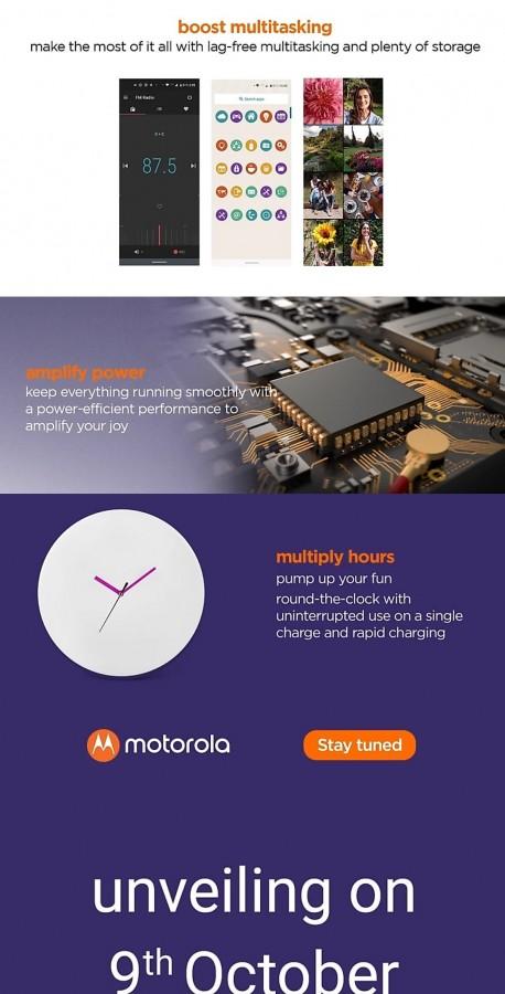 O Motorola One Macro ganhou uma data de laçamento para acontecer no dia 9 de Outubro