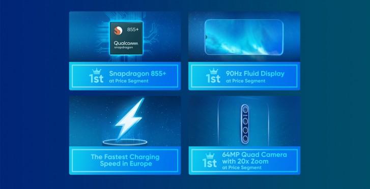 O Realme X2 Pro virá com o Snapdragon 855+