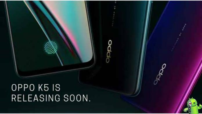 Oppo K5 é lançado com Snapdragon 730G e câmera de 64MP