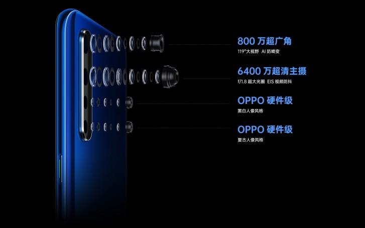 Oppo K5 foi lançado com uma camera enorme de 64MP