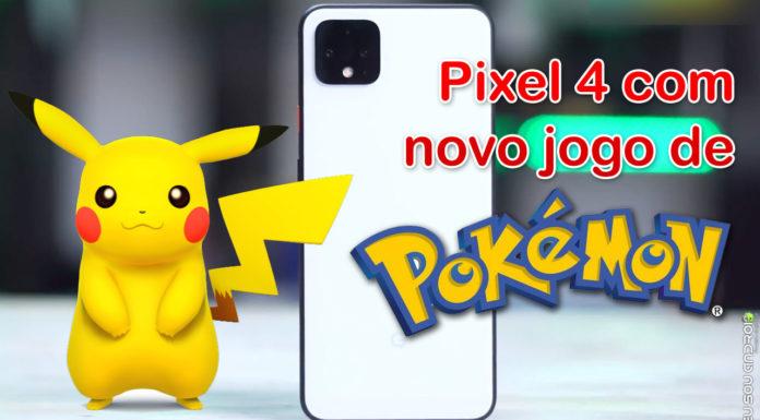 Pixel 4 Deve Vir com Novo Jogo de Pokémon Instalado capa