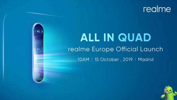Realme X2 Pro chegando em 15 de outubro