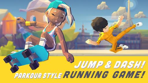 Smashing Rush : Parkour Action Run Game
