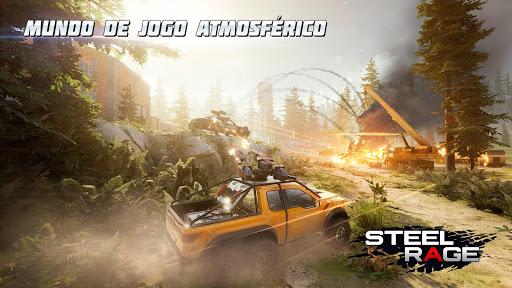 Steel Rage: Guerra e ação JxJ com carros-robô
