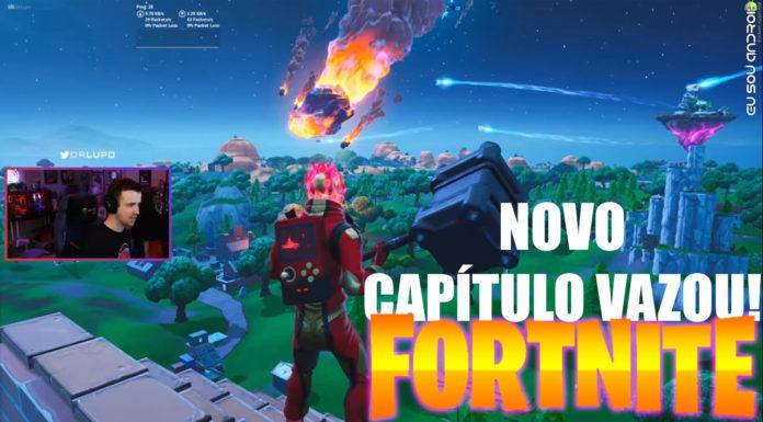 Vazam Novidades Sobre Próximo Capítulo de Fortnite CAPA