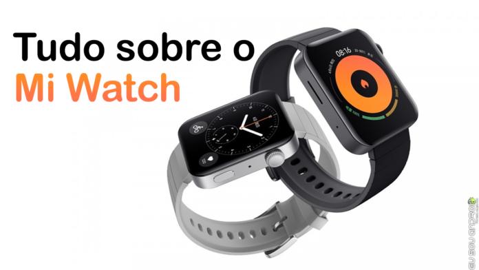 Veja o Xiaomi Mi Watch Funcionando Agora! Ele Terá uma Versão Própria da MIUI! capa