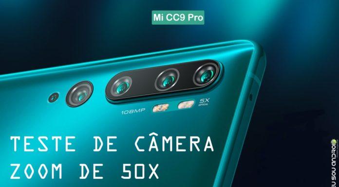 Xiaomi Demonstra Poder de Zoom de 50X do Mi CC9 Pro CAPA