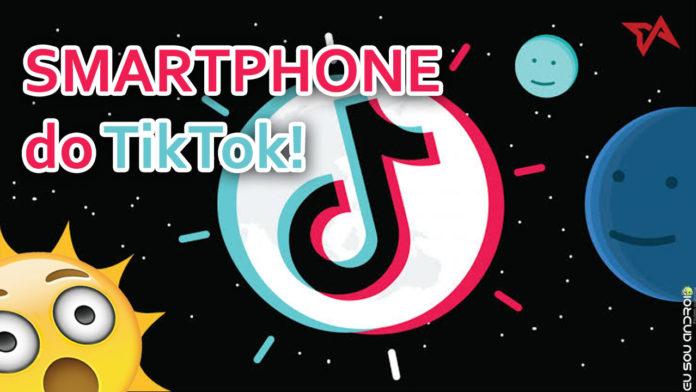 Fã do TikTok Conheça o Primeiro Smartphone do TikTok! capa